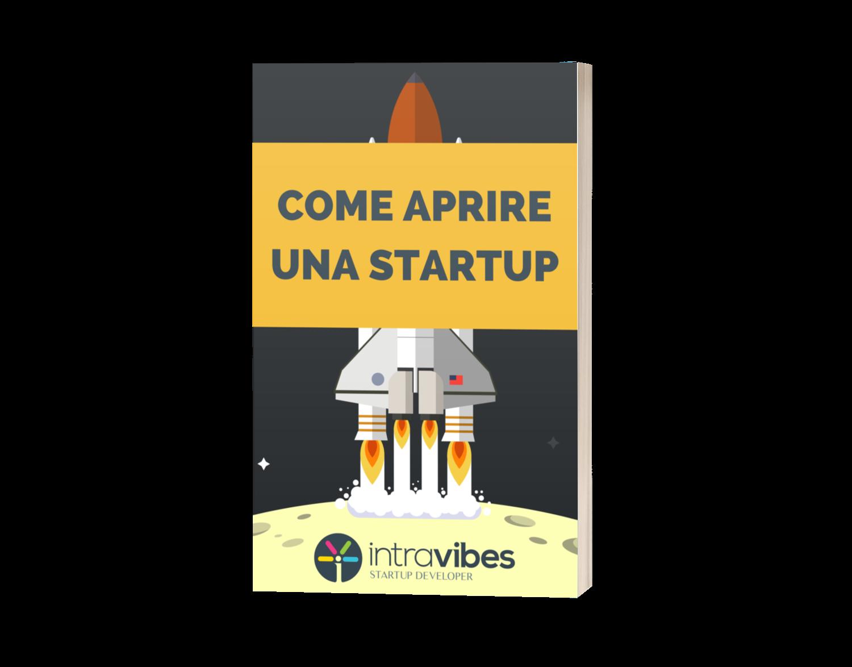 Copertina guida PDF Come Aprire una Startup