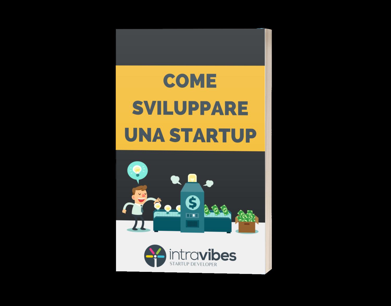 Copertina guida PDF Come Sviluppare una Startup