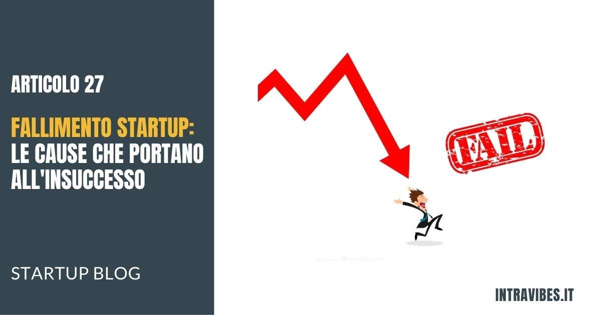 Copertina Articolo Fallimento Startup
