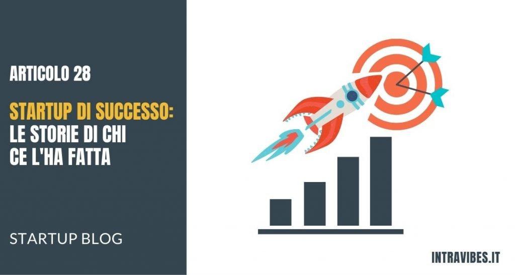 Copertina Articolo Startup di Successo