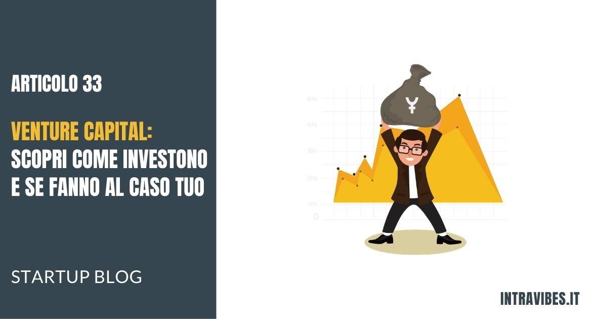 Copertina Articolo Venture Capital